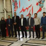 گلباران و غبار روبی مزار شهدای ورزشکار شهرستان قدس در گلزار شهدا برگزار شد .
