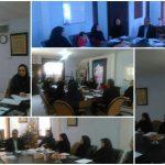 جلسه نواب روسای هیتهای ورزشی شهرستان قدس برگزار شد
