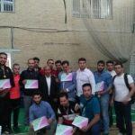 تیم کونگ فو شهرستان قدس نائب قهرمان مسابقات انتخابی استان تهران شد .