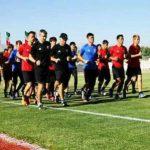 شهردار قدس ، از تمرینات تیم ملی ژاپن در ورزشگاه ۲۵ هزار نفری شهدای این شهرستان  بازدید بعمل آورد .