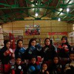 اردوی آمادگی تیم موی تای بانوان استان تهران جهت شرکت در مسابقات کشوری به میزبانی شهرستان قدس