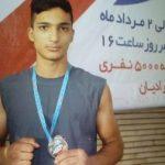 علی دهباشی مدال نقره رقابت های بوکس قهرمانی کشور را از آن خود کرد .