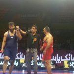 کسب مقام اول شهاب قوره جیلی در مسابقات کشتی فرنگی انتخابی تیم ملی