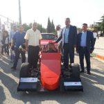 حضور صیفوری در اولین همایش خودروهای لوکس در شهرستان قدس