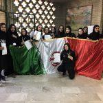 قهرمانی بانوان شهرقدس در مسابقات مچ اندازی استان تهران انتخابی کشوری