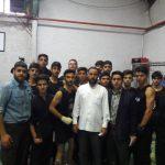 تیم شهرستان قدس مقام سوم تیمی مسابقات  کونگ فو استان تهران را از آن خود کرد .