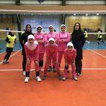 حضور سه بازیکن والیبال دختر از شهرستان قدس در تیم مینی والیبال استان تهران جهت حضور در مسابقات قهرمانی کشور