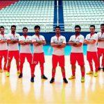 حضور تیم فوتسال پارسیان نماینده شهرستان قدس در مسابقات لیگ برتر کشور در سال ۹۶