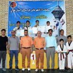 کسب مقام سوم قهرمانی لیگ برتر تکواندو خردسالان