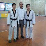 راه یابی دو تکواندو کار نوجوان شایسته شهرقدس به دور نهایی اردوی استان تهران