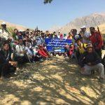 گردشگری ورزشی هیئت همگانی با همکاری هیئت کوهنوردی شهرستان قدس به مناسبت بزرگداشت هفته دفاع مقدس