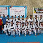 در پایان هفته هشتم لیگ نونهالان پسران استان تهران تیم تکواندو شهرداری قدس رده سوم جدول را تثبیت نمودند.