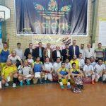 قهرمانی اداره آبفا در مسابقات فوتسال کارمندان دولت شهرستان قدس