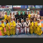 کسب مقام سوم تیم فجر شهرقدسی تکواندو خردسالان دختر در لیگ برتر کشور