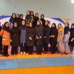 نائب قهرمانی تیم کاراته دختران شهر قدس در مسابقات المپیاد آینده سازان استان تهران