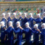 حضور تیم فوتسال نونهال بانوان شهرستان قدس در فستیوال امید آیندگان تهران