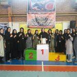 کسب کاپ طلای تیم بانوان شهر قدس در مسابقات قهرمانی سوپر کیک بوکسینگ کشور