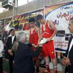 نائب قهرمانی تیم بوکس شهرستان در المپیاد آینده سازان استان تهران