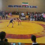 برگزاری مسابقات کشتی آزاد بزرگسالان قهرمانی شهرستان قدس یادواره هفته دفاع مقدس