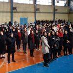 برگزاری مسابقه ایروبیک ماراتن  به مناسبت گرامیداشت دهه مبارک فجر