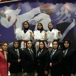کاراته کاهای خوش آتیه شهر قدسی در مسابقات انتخابی تیم ملی خوش درخشیدند