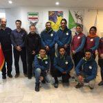 اعزام بانوی کوهنورد شهر قدسی جهت حضور در مسابقات قهرمانی آسیا / چین