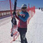زهره افقی ملی پوش ارزشمند شهرقدسی در مسابقات آسیایی کوهنوردی با اسکی مدال برنز را به خود اختصاص داد