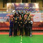 کسب مقام قهرمانی بانوی موی تای کار شهر قدسی در مسابقات کشوری
