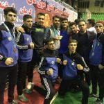 تیم موی تای استان تهران با حضور ۶ فایتر شهر قدسی مقام قهرمانی کشور را کسب کرد