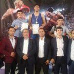 کسب عنوان قهرمانی تیم کیک بوکسینگ شهر قدس در مسابقات قهرمانی استان تهران  (انتخابی مسابقات بین المللی)