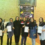 کسب عنوان درخشان  تیم کیک بوکسینگ بانوان شهر قدس در مسابقات قهرمانی استان تهران