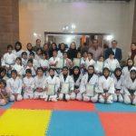 تجلیل از دختران کاراته کای مسابقات بین المللی جام ایران زمین و جام پایتخت