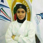 مدال برنز نماینده  کاراته جوانان شهرستان قدس در مسابقات قهرمانی آسیا
