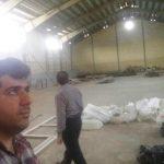 بازدید حسین نوروزی از روند ساخت پروژه های ورزشی هفت جوی