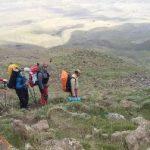 اقدامات و خدمات تیم ستاد پیشگیری حوادث کوهستان هیات کوهنوردی شهرستان قدس در برنامه استقرار و صعود به قله دماوند در جبهه شمال شرقی
