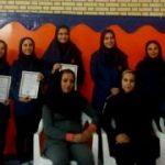 معرفی نفرات برتر مسابقات تکواندو دختران شهرستان قدس
