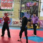 برگزاری مسابقات لیگ کشوری کونگ فو و هنرهای رزمی به میزبانی شهرستان قدس