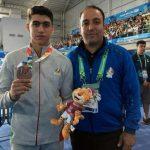 نخستین مدال المپیکی توسط ورزشکار شهرقدسی