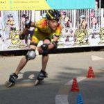 مسابقه اسکیت به مناسبت هفته تربیت بدنی و ورزش برگزار شد