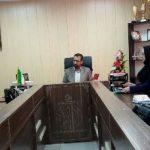 برگزاری نشست رئیس اداره ورزش و جوانان شهرستان قدس با نواب روءسای هیات های ورزشی