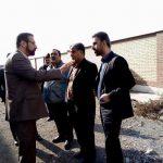 بازدید میدانی رئیس فنی مهندسی اداره کل ورزش و جوانان استان تهران از پروژه های ورزشی در حال احداث شهرستان