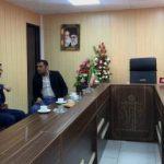 دیدار سرپرست اداره فرهنگ و ارشاد اسلامی شهرستان قدس با محسن حسینی