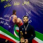 کسب مدال برنز سعید صادقی در مسابقات کشتی فرنگی قهرمانی کشور کارگران