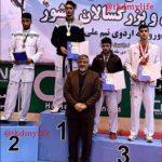 کسب مدال برنز نیما مهرعلی در مسابقات تکواندو آزاد کشوری جوانان و بزرگسالان