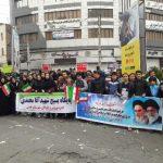 حضور پرشور جامعه بزرگ ورزش و جوانان شهرستان قدس، در راهپیمایی ۲۲ بهمن