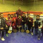 قهرمانی تیم موی تای بزرگسالان قدسی در مسابقات شش جانبه کشور