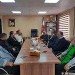 نشست صمیمی معاون سیاسی انتظامی فرمانداری شهرستان قدس با رئیس اداره ورزش و جوانان