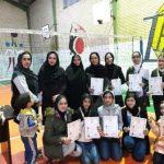 مسابقات مینی والیبال دختران ویژه دهه مبارک فجر با قهرمانی تیم نیلوفر ۳ پایان یافت