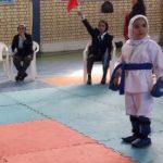 برگزاری مسابقات قهرمانی کاراته بانوان در شهرستان قدس
