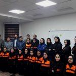 اختتامیه اولین دوره کلاس مربیگری سطح یک فوتسال ایران ویژه بانوان